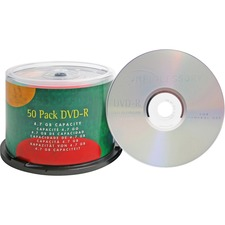 Compucessory 35557 DVD Recordable Media