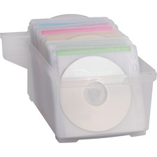 CCS 22292 Compucessory CD/DVD Sleeves Storage Box  CCS22292