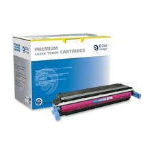 Elite Image Remanufactured Toner Cartridge - Alternative for HP 645A (C9733A) - Laser - 12000 Pages - Magenta - 1 Each