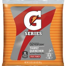 QKR 33691 Quaker Oats Powdered Gatorade Mix Pouches QKR33691