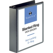 SPR 09500 Sparco Slant Ring Vue Binders SPR09500