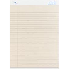 SPR 01074 Sparco Colored Legal Ruled Pads SPR01074
