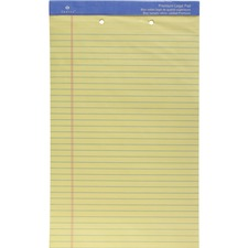 SPR 10142HP Sparco 2-Hole Punched Legal Ruled Pads SPR10142HP