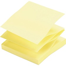 SPR 70403 Sparco Pop-up Adhesive Fanfold Note Pads SPR70403