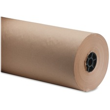 "Sparco Bulk Kraft Wrapping Paper - 18"" (457.20 mm) Width x 1050 ft (320040 mm) Length - 1 Wrap(s) - Kraft - Brown"