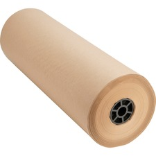"Sparco Bulk Kraft Wrapping Paper - 24"" (609.60 mm) Width x 1050 ft (320040 mm) Length - 1 Wrap(s) - Kraft - Brown"