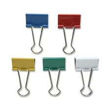 SPR 02271 Sparco Assorted Color Binder Clips SPR02271