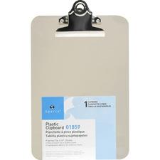 SPR 01859 Sparco Compact Plastic Clipboard SPR01859
