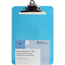 SPR 01863 Sparco Plastic Clipboard SPR01863