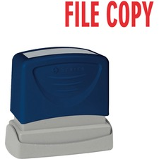 Sparco FILE COPY Red Title Stamp