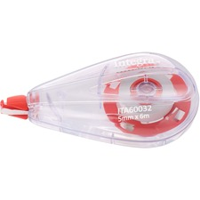 ITA 60032 Integra White Correction Tape ITA60032