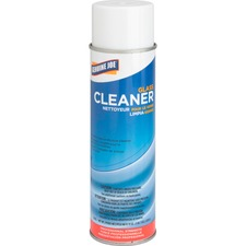 Genuine Joe Glass Cleaner Aerosol - Aerosol - 561.90 mL - 1 Each - White