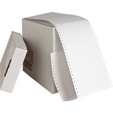 SPR 01098 Sparco Continuous Feed Punched Index Cards SPR01098