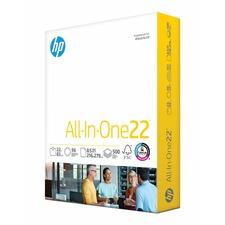 "HP Papers Copy&Print20 8.5x11 Inkjet, Laser Copy & Multipurpose Paper - White - 92 Brightness - Letter - 8 1/2"" x 11"" - 22 lb Basis Weight - 500 / Ream - FSC"