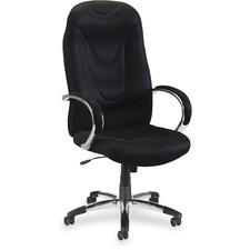 LLR 60500 Lorell Airseat Series Exec. High-back Fabric Chair LLR60500