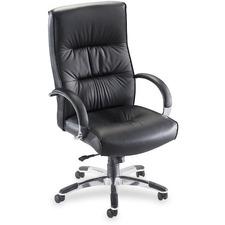 LLR60502 - Lorell Bridgemill Executive High-Back Swivel Chair