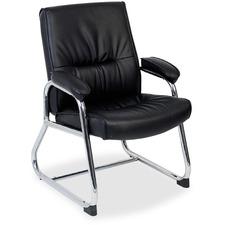 LLR60504 - Lorell Bridgemill Leather Guest Chair