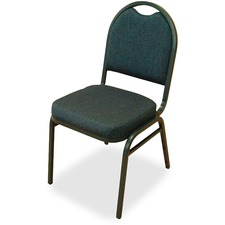 LLR62514 - Lorell Round-Back Stack Chair