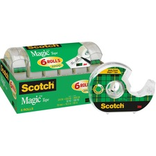 "MMM 6122 3M Scotch 3/4"" Magic Tape Dispenser MMM6122"