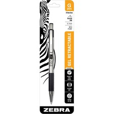 ZEB 41311 Zebra G-301 Gel Retractable Pen ZEB41311