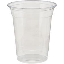 DXE CP12DXPK Dixie Foods Crystal Clear Plastic Cups DXECP12DXPK