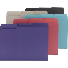 SMD 10295 Smead 1/3-cut Tab Interior File Folders SMD10295