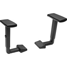 HON Volt Adjustable-Height Arms - Black - 2 / Pair