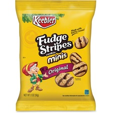 KEB 21771 Keebler Fudge Stripes Cookie Minis KEB21771