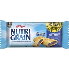 Kellogg's® Nutri-Grain® Bar Blueberry - Individually Wrapped, Low Fat - Blueberry - 16 / Box