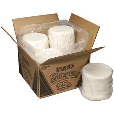 CYO 575001 Crayola 25 lb. Air-Dry Clay Value Pack CYO575001
