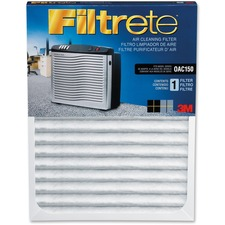 "Filtrete Replacement Air Filter - Activated Carbon - For Air Purifier - Remove Odor - 11"" (279.40 mm) Height x 23.50"" (596.90 mm) Width x 1.13"" (28.58 mm) Depth"