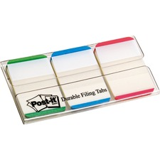 "MMM 686LGBR 3M Post-it Durable 1"" Filing Tabs MMM686LGBR"