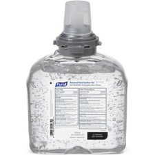 GOJ 545604 GOJO Purell TFX 1200mL Adv. Hand Sanitizer Foam GOJ545604