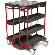 Rubbermaid Commercial 9T5700BLA Mobile Cart