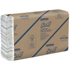 KCC 03623 Kimberly-Clark Scott C-Fold Hand Towels KCC03623