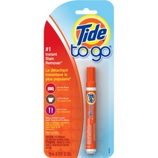 Tide Procter & Gamble -to-Go Stain Remover Pen - Spray - 0.34 fl oz - 1 Each - Orange