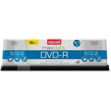 MAX 638006 Maxell MaxData 4.7GB 16X DVD-R Pack MAX638006