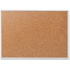 QRT 2304 Quartet Alum. Frame Bulletin Boards w/Brackets QRT2304