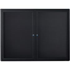 QRT 2964LM Quartet Double Glass Magnetic Message Board QRT2964LM