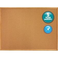 QRT 307 Quartet Oak Frame Bulletin Boards QRT307