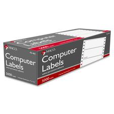 MAC 42461 Maco High Speed Data Processing Labels MAC42461