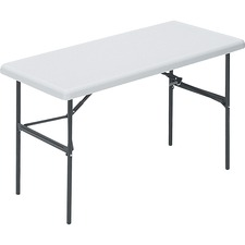 LLR 66653 Lorell Ult-Lite Platinum Rectangular Banquet Table LLR66653
