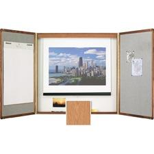 QRT 853 Quartet Veneer Conference Room Cabinet QRT853