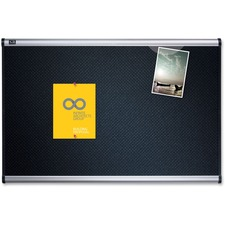 QRT B343A Quartet Prestige Black Embossed Foam Board QRTB343A