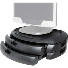 KTK MS200B Kantek LCD Monitor Stand w/Drawers KTKMS200B