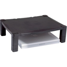 KTK MS400 Kantek Single Platform Adjustable Monitor Stand KTKMS400