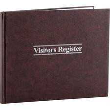 Wilson Jones Visitor's Register Book