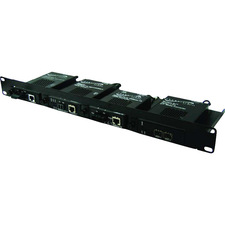 TransitionNetworks 4 Slot Media Converter Shelf
