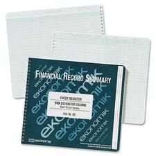 EKO DD Ekonomik Check Register Forms EKODD