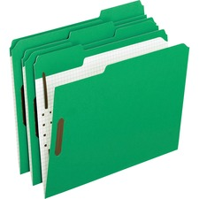 PFX 21329 Pendaflex 1/3 Cut Colored Fastener Folders PFX21329